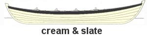Cream & slate