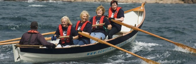 Ladies rowing