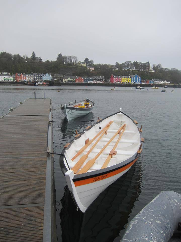 Selkie and Eala Bhan in Tobermory